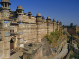 The Walls of Gwalior Fort, Madhya Pradesh, India Photographic Print by Maurice Joseph