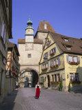 Rotenburg Ob Der Tauber, Bavaria, Germany, Europe Photographic Print by Gavin Hellier