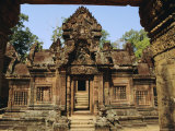 The Banteay Srei Temple, Angkor, Siem Reap, Cambodia Photographic Print by Maurice Joseph