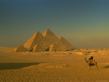 The Pyramids at Giza, Unesco World Heritage Site, Cairo, Egypt, North Africa, Africa Photographic Print by Gavin Hellier