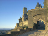 Carcassonne, Unesco World Heritage Site, Aude, Languedoc-Roussillon, France, Europe Photographic Print by Nedra Westwater