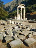 The Tholos, Delphi, Greece, Europe Photographic Print by Lorraine Wilson
