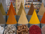 Spices for Sale, Mellah District, Marrakesh (Marrakech), Morocco, North Africa, Africa Photographic Print by Gavin Hellier