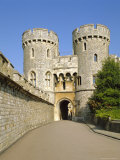 The Norman Gate, Windsor Castle, Berkshire, England, UK Photographic Print by Philip Craven