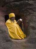 Bet Medhane Alem (Saviour of the World), Lalibela, Ethiopia, Africa Photographic Print by Gavin Hellier