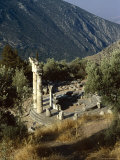 The Tholos, Delphi, Unesco World Heritage Site, Greece, Europe Photographic Print by Lorraine Wilson