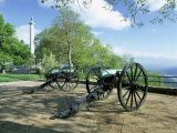 Cannon in Point Park Overlooking Chattanooga City, Chattanooga, Tennessee, United States of America Photographic Print by Gavin Hellier