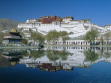 The Potala Palace and Reflection, Lhasa, Tibet, China, Asia Photographic Print by Gavin Hellier