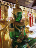 Statues of the Buddha, Wat Phra That Doi Suthep, Doi Suthep, Chiang Mai, Northern Thailand, Asia Photographic Print by Gavin Hellier