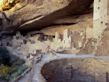 Old Cliff Dwellings and Cliff Palace in the Mesa Verde National Park, Colorado, USA Photographic Print by Gavin Hellier