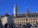 Place Du General De Gaulle, Lille, Nord, France, Europe Reproduction photographique par Gavin Hellier