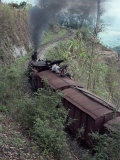 Steam Train on the Way to Darjeeling, West Bengal State, India, Asia Photographic Print by Sybil Sassoon