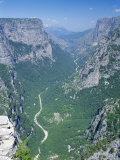 Vikos Gorge National Park, Epirus, Greece, Europe Photographic Print by Lorraine Wilson