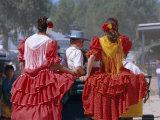 Romeria Del Rocio Fetival, El Rocio, Andalucia (Andalusia), Spain, Europe Photographic Print by Gavin Hellier