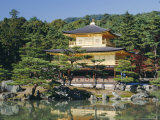 Temple of the Golden Pavilion, Kyoto, Japan Photographic Print by Gavin Hellier