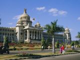 State Legislature & Secretariat Building, Bangalore, Karnataka State, India Photographic Print by Jenny Pate