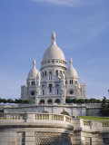 Sacre Coeur Basilica, Paris, France, Europe Photographic Print by Philip Craven