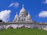 Basilica of Sacre Coeur, Montmartre, Paris, France, Europe Photographic Print by Gavin Hellier