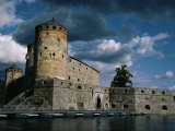 Olavinlinna Castle Dating from 1475, Savonlinna, Finland, Scandinavia, Europe Photographic Print by Jenny Pate