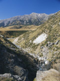 Arthurs Pass, River Valley, Canterbury, South Island, New Zealand Photographic Print by Maurice Joseph