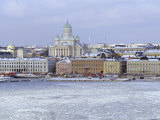 Winter, Helsinki, Finland, Scandinavia, Europe Photographic Print by Gavin Hellier