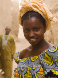 Portrait of a Fulani Woman, Mopti, Mali, West Africa, Africa Photographic Print by Gavin Hellier