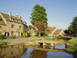 Lower Slaughter, the Cotswolds, Gloucestershire, England, UK Photographic Print by Philip Craven