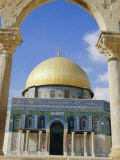 Dome of the Rock, Jerusalem, Israel. Middle East Photographic Print by Jenny Pate