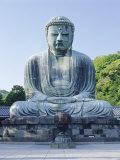 Daibusu (The Great Buddha), Kamakura, Tokyo, Japan Photographic Print by Gavin Hellier