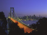 Bay Bridge and City Skyline, San Francisco, California, USA Photographic Print by Gavin Hellier