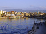 Chania, Crete, Greece, Europe Photographic Print by Lorraine Wilson