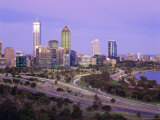 The City Skyline from Kings Park, Perth, Western Australia, Australia Photographic Print by Gavin Hellier