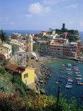 Vernazza, Cinque Terre, Unesco World Heritage Site, Italian Riviera, Liguria, Italy, Europe Photographic Print by Sheila Terry