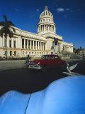 1950s American Cars, Centro Havana, Cuba Photographic Print by Gavin Hellier