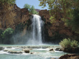 Harasu Falls, Grand Canyon, Arizona, USA Photographic Print by Anthony Waltham