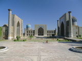 Registan Square, Samarkand, Uzbekistan, Central Asia Photographic Print by Gavin Hellier