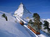 The Matterhorn, Zermatt, Switzerland, Europe Photographic Print by Gavin Hellier