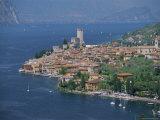 Malcesine, Lago Di Garda (Lake Garda), Veneto, Italy, Europe Photographic Print by Gavin Hellier