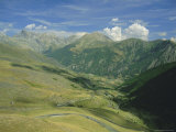 View from the Col De Vars, Near Barcelonnette, Haute-Alpes, French Alps, Provence, France, Europe Photographic Print by David Hughes
