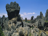The Stone Forest, Near Kunming, Yunnan, China Photographic Print by Gavin Hellier