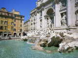 Baroque Style, Trevi Fountain (Fontana Di Trevi), Rome, Lazio, Italy, Europe Photographic Print by Gavin Hellier
