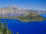 Crater Lake National Park, Oregon, USA Photographic Print by Anthony Waltham