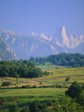 Naranjo de Bulnes (Peak), Picos de Europa Mountains, Asturias, Spain, Photographic Print