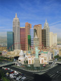 New York, New York Hotel and Casino, Las Vegas, Nevada, USA Photographic Print by Gavin Hellier