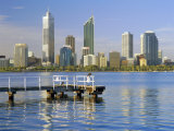 City Skyline, Perth, Western Australia, Australia Photographic Print by Gavin Hellier