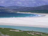 White Shell-Sand, Scarasta Beach, North West Coast of South Harris, Outer Hebrides, Scotland, UK Photographic Print by Anthony Waltham