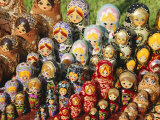 Matryoschka (Russian Dolls), Moscow, Russia Photographic Print by Gavin Hellier