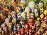 Matryoschka (Russian Dolls), Moscow, Russia Photographic Print by Gavin Hellier