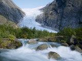 Briksdalsbreen Glacier, Western Fjord, Norway Photographic Print by Gavin Hellier