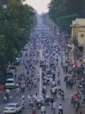 Busy Downtown Street, Ho Chi Minh City (Saigon), Vietnam, Indochina, Asia Photographic Print by Gavin Hellier